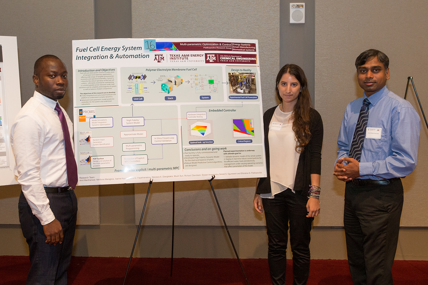 Second Place:  Gerald S. Ogumerem, Styliani Avraamidou, and Amit Manthanwar - Research Workshop on Non-Fossil-based Technologies for Energy