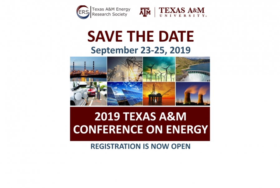 Registration is free for Texas A&M students, postdoctoral associates, faculty and staff.