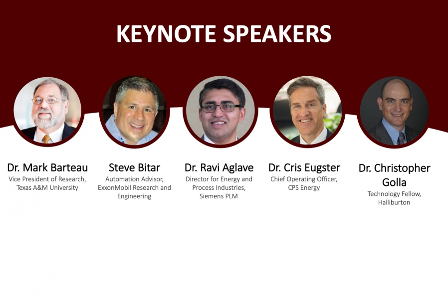 Names of Keynote Speakers