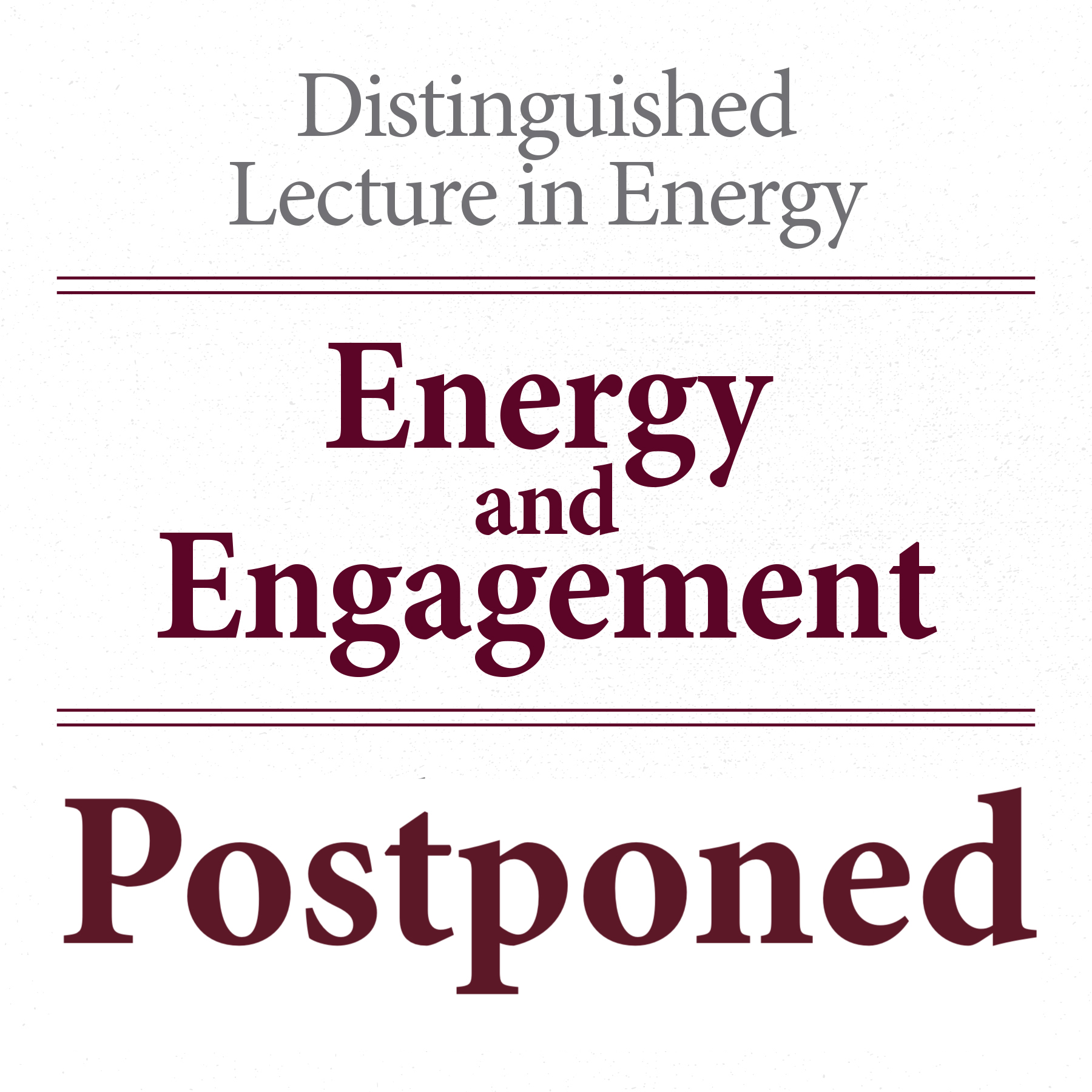 Distinguished Lecture in Energy: Mark A. Barteau