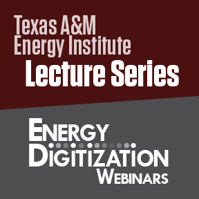Energy Institute Lecture Series - Energy Digitization Webinars