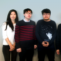 2015-2016 Texas A&M Energy Institute interns from the Republic of Korea: (L-R) Hyeju Song, Kyungjae Tak, Seeyub Yang, Kyungwon Kim, and Yoon-Tae Go.