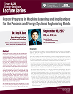 Energy Institute Lecture Series: Dr. Jay H. Lee