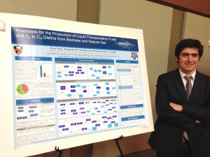 Second Place, Research Workshop on Fossil-based Technologies for Energy Poster Contest: Onur Onel