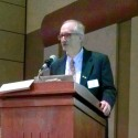 """Dr. Joseph B. Powell, chief scientist for Shell International Exploration and Production, presents """"Fossil-based Technologies for Energy."""""""