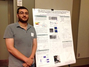 Third Place, Research Workshop on Fossil-based Technologies for Energy Poster Contest: Abdullah S. Tazebay